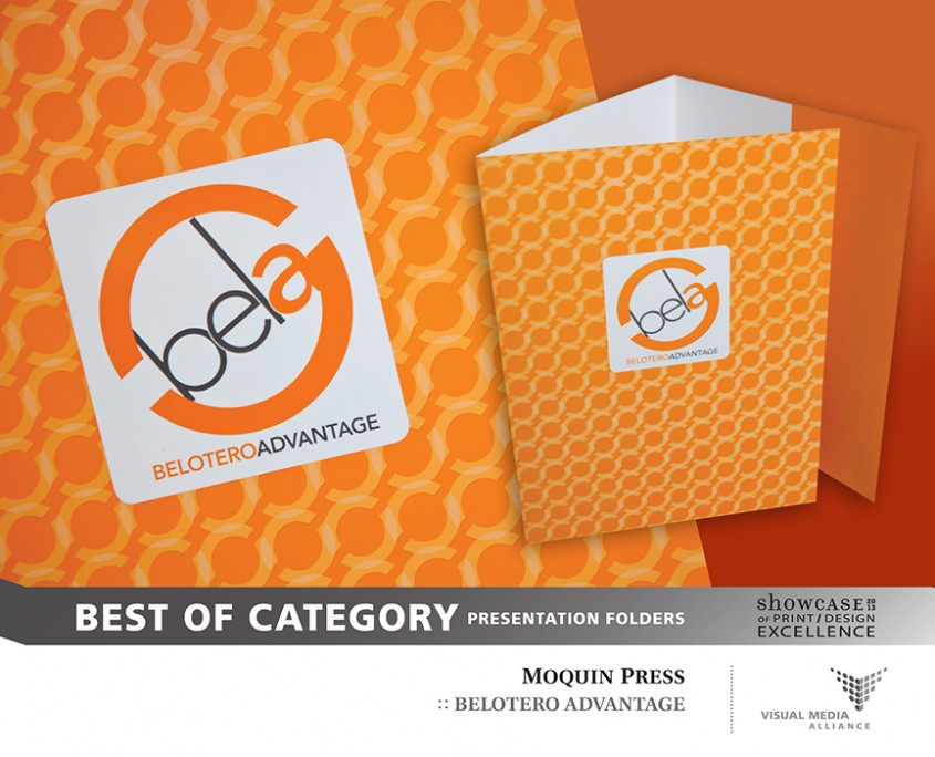 Showcase 2013 - BOC - Presentation Folders - Moquin Press