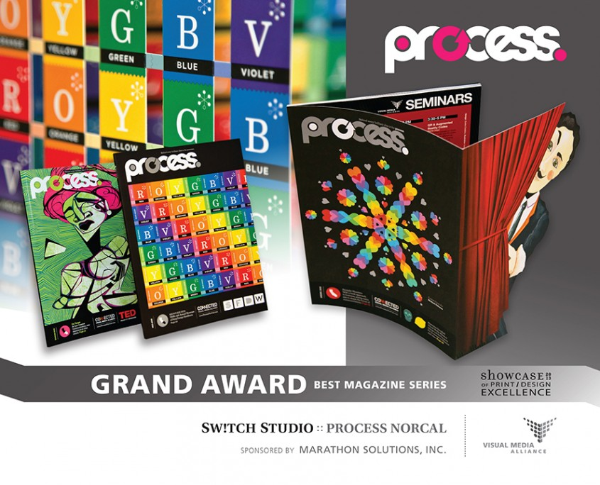 Showcase 2013 - GA - Best Magazine Series - Switch Studio
