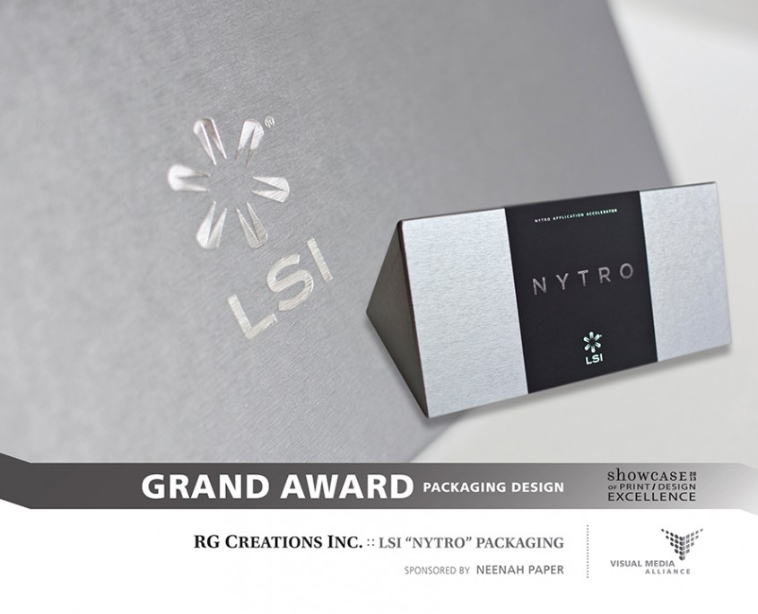 Showcase 2013 - GA - Packaging Design - RG Creations Inc