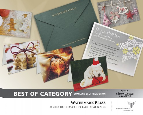 Showcase 2014 - Best of Category - Company Self Promotion - Watermark Press