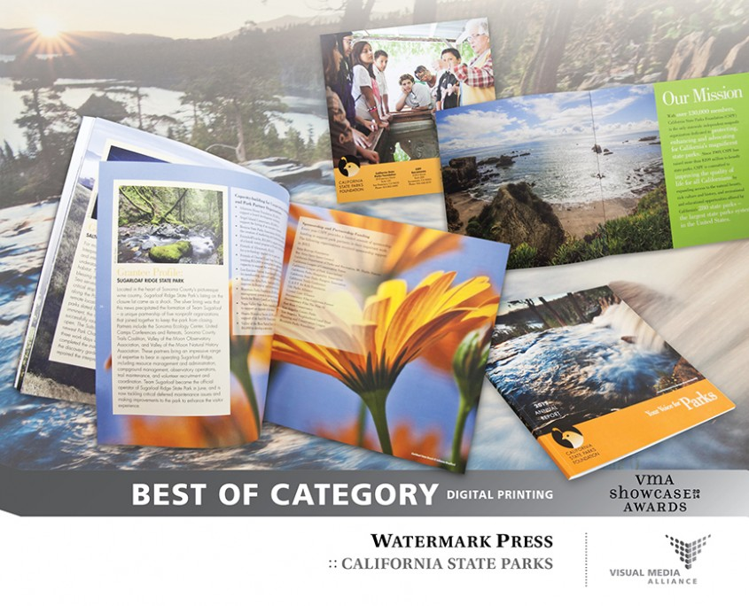Showcase 2014 - Best of Category - Digital Printing - Watermark Press