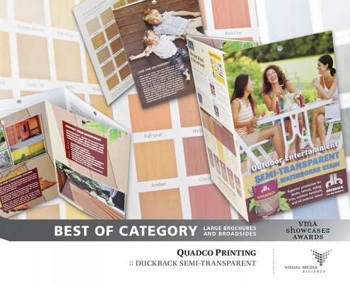 Showcase 2014 - Best of Category - Large Brochures and Broadsides - Quadco Printing