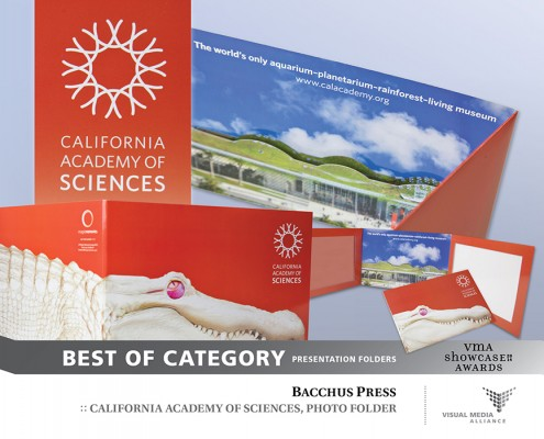 Showcase 2014 - Best of Category - Presentation Folders - Bacchus Press