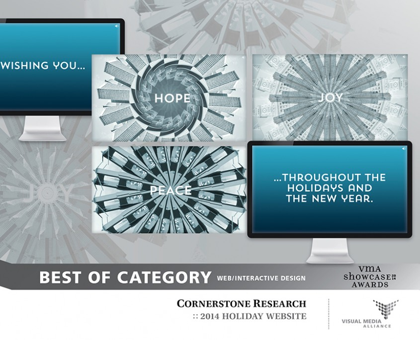 Showcase 2014 - Best of Category - Web and Interactive Design - Cornerstone Research