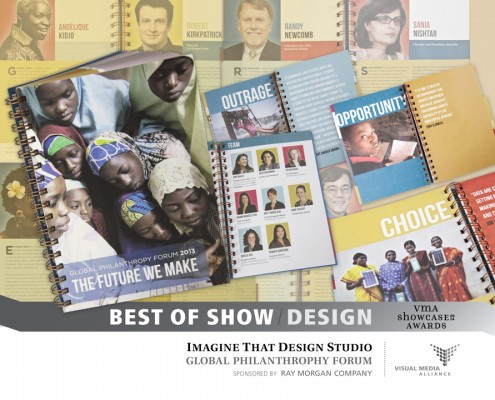 Showcase 2014 Best of Show Design - Imagine That SF - Global Philanthropy Forum