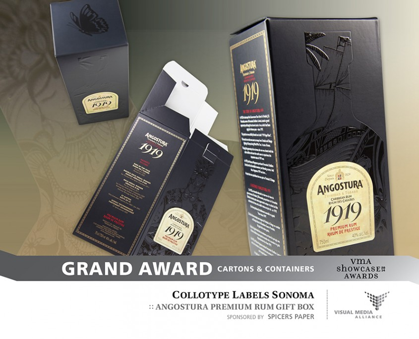 Showcase 2014 - Grand Award - Cartons and Containers - Collotype Labels Sonoma