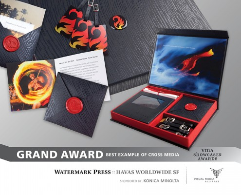 Showcase 2014 - Grand Award - Best Example of Cross Media - Watermark Press