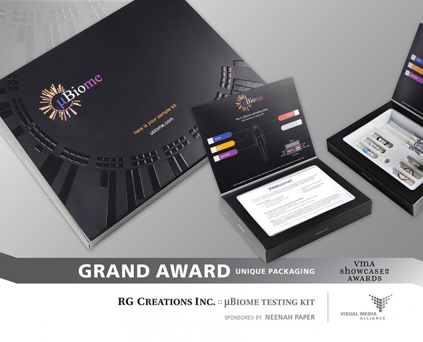 Showcase2014 - Grand Award - Unique Packaging - RG Creations Inc