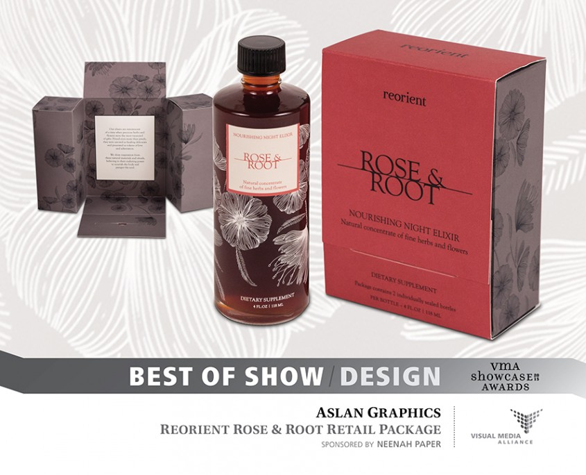Showcase 2015 - Best of Show - Design - Aslan Graphics