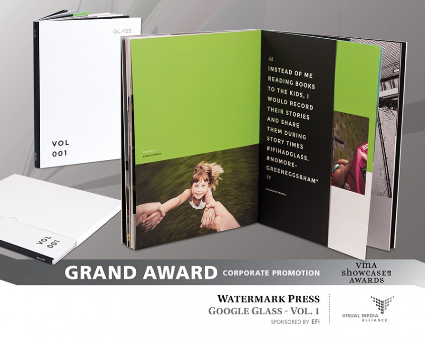 Showcase 2015 - Grand Award - Corporate Promotion - Watermark Press