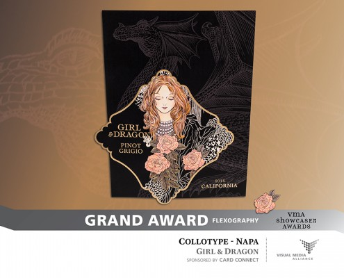 Showcase 2015 - Grand Award - Flexography - Collotype Napa