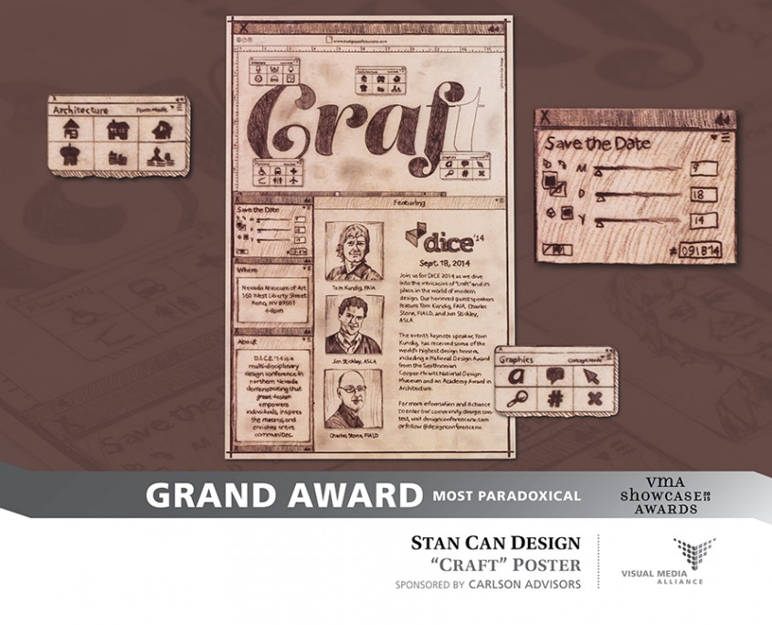 Showcase 2015 - Grand Award - Most Paradoxical - Stan Can Design