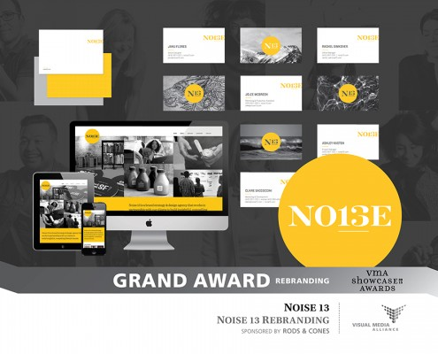 Showcase 2015 - Grand Award - Rebranding - Noise 13