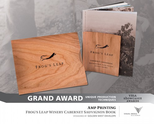 Showcase 2015 - Grand Award - Unique Production Techniques - AMP Printing