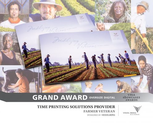 Showcase 2016 - Grand Award - Oversize Digital - Time Printing Solutions Provider - Farmer Veteran